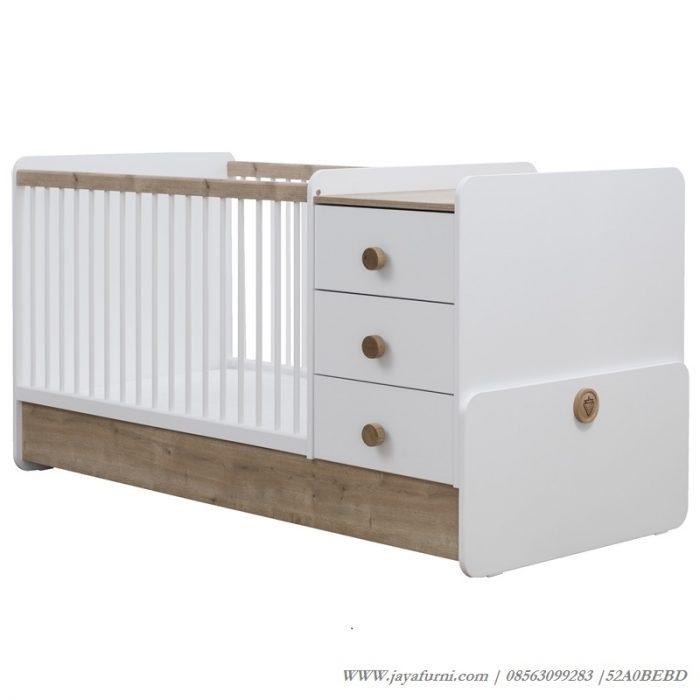 Tempat Tidur Bayi Duco 3 Laci Minimalis