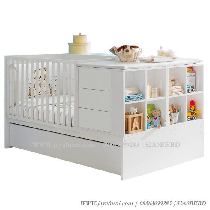 Box Bayi Jumbo Sorong Warna Putih