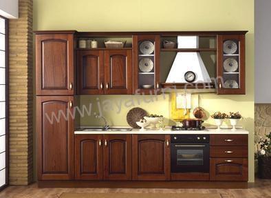Kitchen Set Panjang Minimalis Lemari Samping Jayafurni Mebel