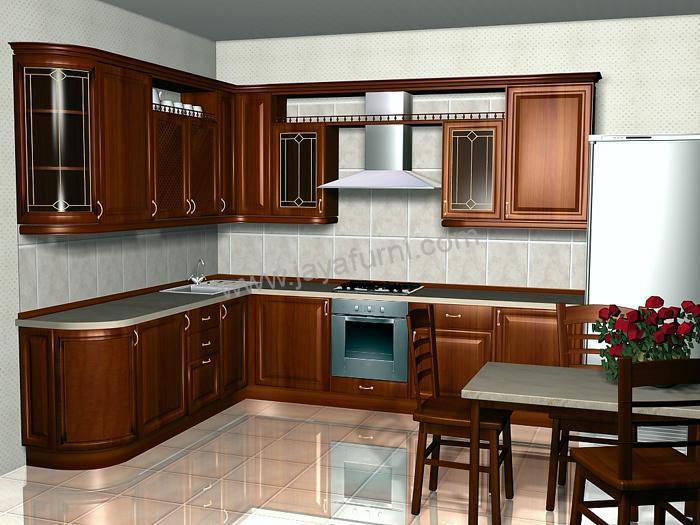 Model Kitchen Set Minimalis Gantung Kayu Jati Jayafurni Mebel