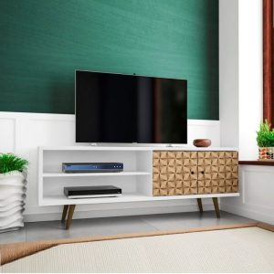 Bufet TV Pendek Minimalis Retro