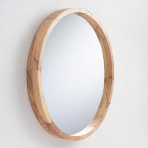 Cermin Dinding Bulat Minimalis