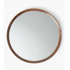 Cermin Dinding Bundar Minimalis