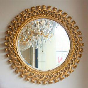 Cermin Hias Bundar Ukir Jepara, Pigura Cermin Ukiran Kayu Jati Klasik Jepara, Cermin Hias Dinding, cermin ukiran jepara, harga cermin kayu jati, cermin jati minimalis, harga cermin jepara, bingkai