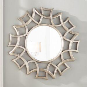 Cermin Hias Minimalis Modern Silver