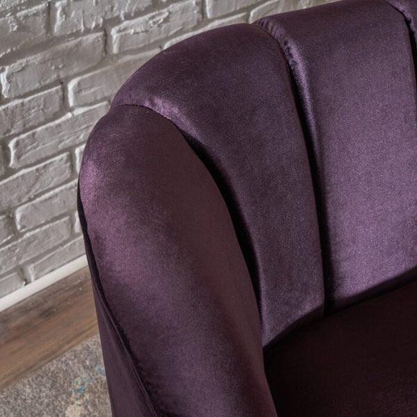 Desain Kursi Tamu Sofa Minimalis Purple