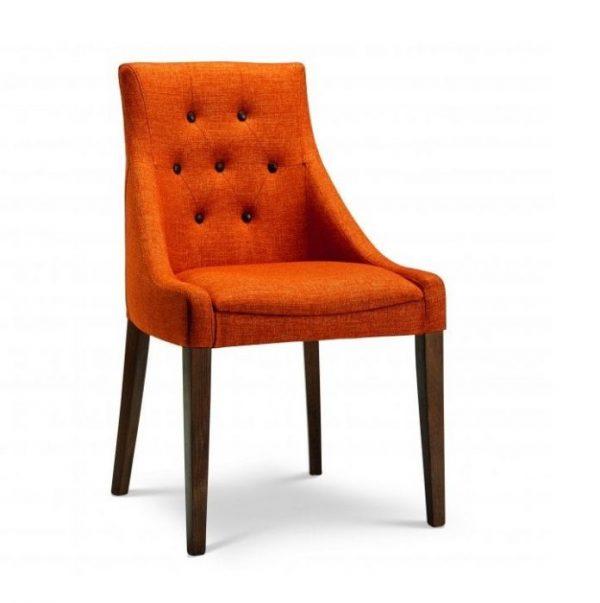 Kursi Restoran Sofa Stood Orange