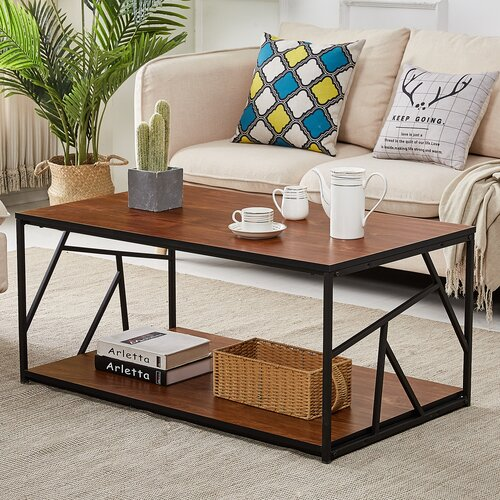 Meja Coffee Table Besi NaqilaMeja Coffee Table Besi Naqila