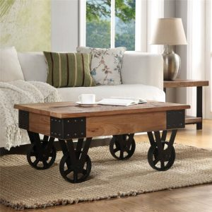 Meja Coffee Table Industrial Rustic