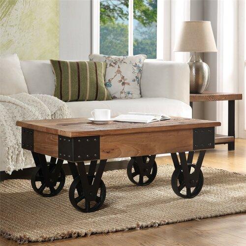 Meja Coffee Table Industrial Rustic