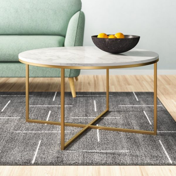 Meja Coffee Table Malica Marmer Minimalis