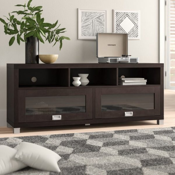 Meja Tv Minimalis Modern Brown