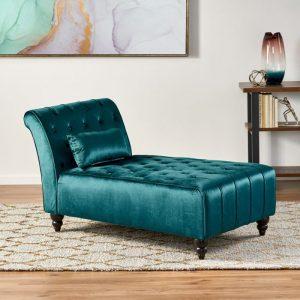 Sofa Malas Minimalis Rubi Velvet