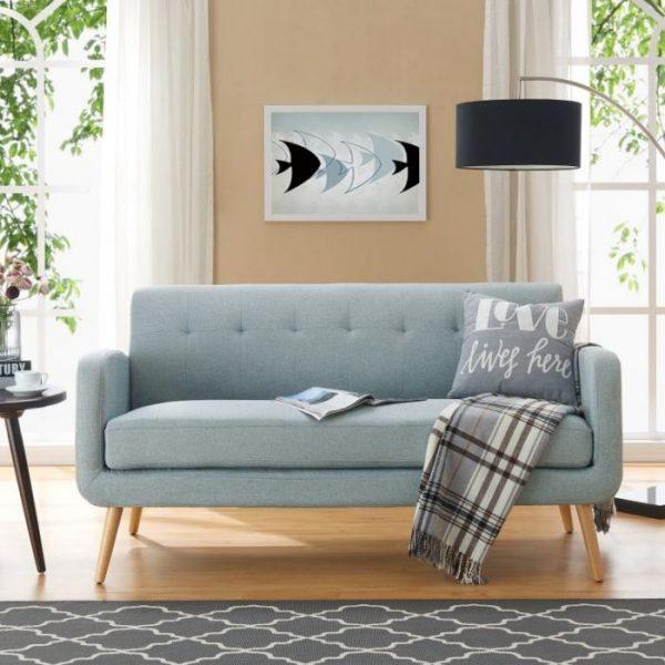 Sofa Ruang Tamu Minimalis Bluely Triple Seat