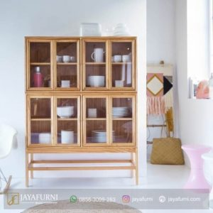 Lemari Dapur Modern 2 Susun,lemari dapur bawah, lemari dapur Informa, lemari gantung dapur dari kaca, lemari gantung dapur kayu minimalis, ukuran lemari dapur dekoruma lemari dapur
