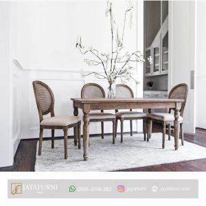 Meja Makan Kayu Jati Rustic, Meja Makan Informa, Meja Makan Kayu, Meja makan kayu jati, Meja makan kayu minimalis, Meja makan minimalis, Meja makan sederhana