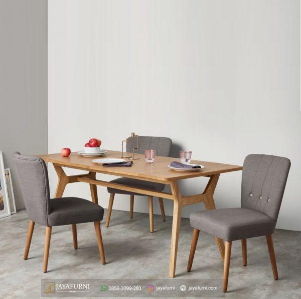 Set Kursi Meja Makan Hotel Minimalis, Meja Makan Informa, Meja Makan Kayu, Meja makan kayu jati, Meja makan kayu minimalis, Meja makan minimalis, Meja makan sederhana