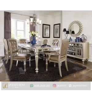 Set Meja Makan 6 Kursi Mewah,Meja Makan Informa, Meja Makan Kayu, meja makan kayu jati, meja makan kayu minimalis, meja makan minimalis, meja makan sederhana,