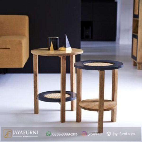 Side Table Ruang Tamu Unik, Meja Samping Tempat Tidur, Nakas Kayu Jati, Nakas Minimalis, Nakas Minimalis Kayu