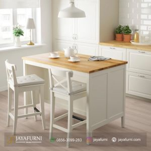 Set Meja Bar Stool 2 Kursi Minimalis Putih, 1 set meja bar, Meja bar harga meja bar, kitchen set dan meja bar, meja bar minimalis, kitchen set dengan meja bar, meja bar kitchen set, set meja bar jati minimalis, set meja bar jepara, set meja bar murah